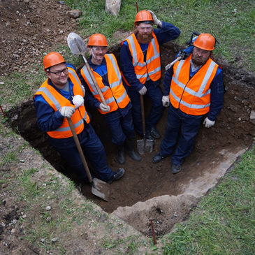 """Первый археологический шурф на промышленной площадке """"Северстали"""" завершен!"""