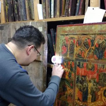 Работа по созданию книги «Иконы Вологды конца XVI – XVII века» в самом разгаре